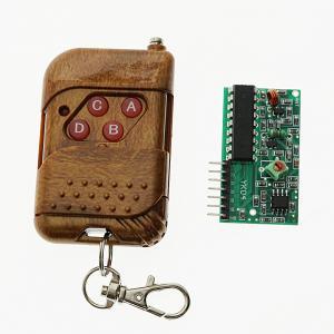 China 4 Channel 315Mhz Arduino Sensor Module RF Wireless Remote Control on sale