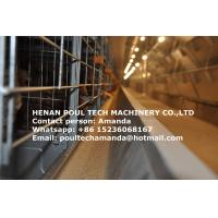 Poultry Farming Equipment Hot Galvanized Cage H Type Automatic Layer Cage & Chicken Coop with 224 Birds for Uganda Manufactures