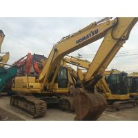 95% UC Used Komatsu Pc200 Excavator 20 Ton Weight With 5 Years Warranty Manufactures