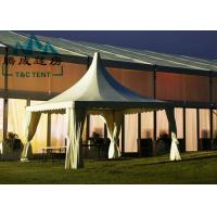 Portable 6x6M Pagoda Canopy Tent High Peak 15 Years Warranty With Indoor Decorations Manufactures