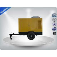 Quality Movable Three Phase Trailer Mounted Generator Silent Type 200-500Kw 600Kva for sale