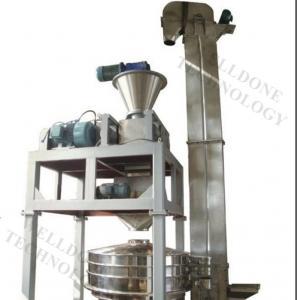 Carbon Black / Zinc Oxide Dry Granulator Machine 5 - 80Mesh Granule Manufactures