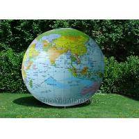 Waterproof Earth Globe Balloons Eco - Friendly Custom Inflatable Advertising Manufactures