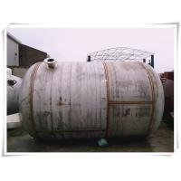 240 Gallon Stainless Steel Air Receiver Tank Horizontal Orientation SGS Approved Manufactures