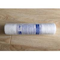 PP Cotton Water Filter Cartridge Replacement 10 Inch 5 Micron For Oil Field Water Manufactures