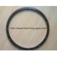 Steel Forged Fly Wheel Ring Gear / Forklift Parts Tooth Large Ring Gear Manufactures
