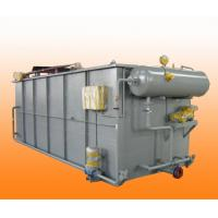 5-100m3 / H Dissolved Air Flotation Unit Equipment In Sewage Pretreatment Manufactures
