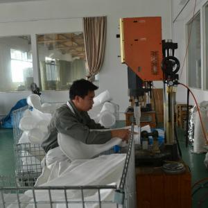 Ultrasonic welding machine for liquid filter bag making Manufactures