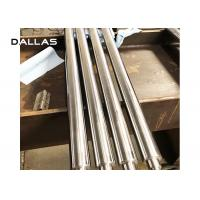 Hydraulic Hard Chrome Piston Rod , Chrome Plated Round Bar CNC Machining Process Manufactures