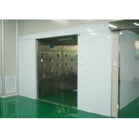 Three Side Blowing Air Shower Room 100 Class For Materials And Goods Manufactures