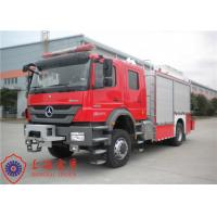 Quality Six Seats Emergency Fire Pumper Truck , Direct Injection Engine Industrial Fire for sale