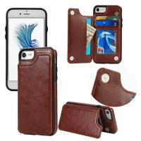 Back Cover IPhone Leather Wallet Case For Iphone 7 Plus Original Soft Magnetic Manufactures
