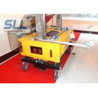 Height Adjustable House Plaster Machine Automatic Plastering Tools Easy Operate Manufactures