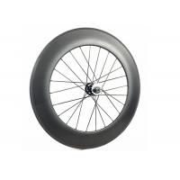 Quality 700C Fixie Flip Flop Rear Wheel Toray 700 With Alloy Black / Red Nipple for sale