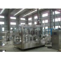 Mineral Water / Beverage / Purified Water Bottle Filling Machine For Plastic Screw Cap 28 mm Manufactures