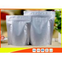 Heat Seal Coffee Packaging Bags Food Grade Side Aluminum Foil Coffee Bags With Valve Manufactures