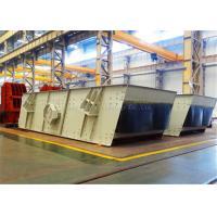 Light Weight Stone Double Deck Vibrating Screen Two Layer For Metallurgy Manufactures