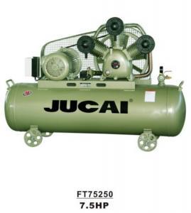 7.5hp 5.5kw 250L Belt Driven Industrial Electric Reciprocating Piston Compressor Manufactures