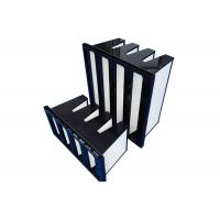 Buy cheap 4 Pack F8 - F9 Compact HEPA Air Filter For Pharmaceuticals Air Flow 3800m³/H from wholesalers