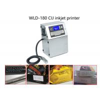 Quick Dry Ink Continuous Inkjet Printer Date Coding Machine For Medcine Box / Capsule Manufactures