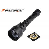 50mm Convex Lens T50 Infrared Torch Light / IR Night Vision Zoomable LED Torch Manufactures