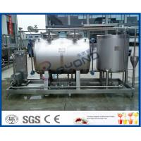 10tph Split Type Semi Auto CIP Cleaning System With SUS304 SS316 Material Manufactures