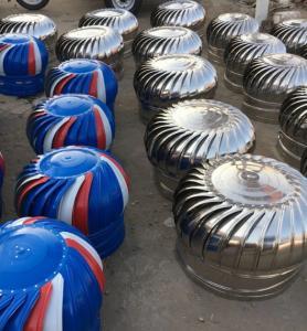 Non Power Aluminum Alloy Housing Roof Ventilator Exhaust Fans Manufactures