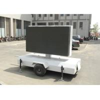 Full Color P10 trailer mounted led screen Display / led trailer sign Manufactures