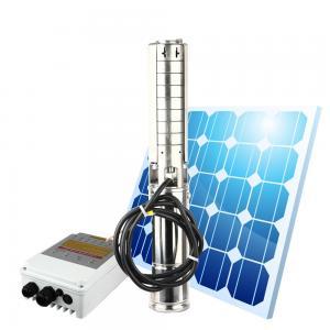 Factory price solar water pump 1hp 2hp 3hp 4hp deep well submersible pump  solar powered deep well water pump Manufactures