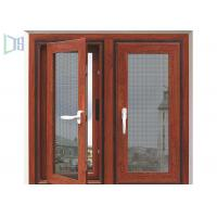 Inward / Outward Open Aluminium Casement Windows Size Customized For Home Manufactures