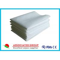 Hotel / Restaurant / Airline Disposable Dry Wipes Ultra Size With Soft Pearl Pattern Manufactures