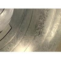 Custom 508mm Dry or Oiled SGC490 ASTM A653 Standard Hot Dip Galvanized Steel Strip Manufactures