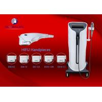 AC200-220V 3.2Mhz Hifu Machine Equipped 3 Heads For Effective Wrinkle Removal Manufactures