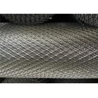 China Galvanized Expanded Steel Diamond Mesh , 15 X 30mm Heavy Gauge Expanded Metal on sale