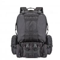 55L Multi Function Sport Tactical Day Pack Water Resistant Camouflage For Hiking Camping Manufactures