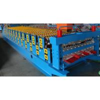 3kw Colored Steel Corrugated Forming Machine With  5 Ton Loading Capacity Manufactures