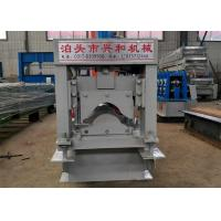 Quality Glazed Tile Ridge Cap Roll Forming Machine With 8 - 12m / Min Forming Speed for sale