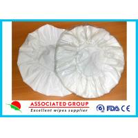 White Unscented Disposable Rinse Free Shampoo Cap Shampoo Condition Added Manufactures