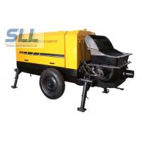 Quality Large Capacity Mobile Cement Mortar Pump Long Service Life 12 Months Warranty for sale