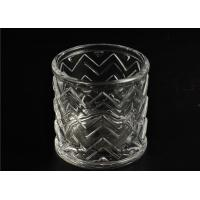 Wedding Glass Candle Holder Decorations / Glass Candle Sleeve Glassware Manufactures
