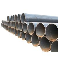 Oil refinery ERW Welded Steel Pipes outside dimension 21.3mm-660mm APL 5L Gr.B plain ends Manufactures