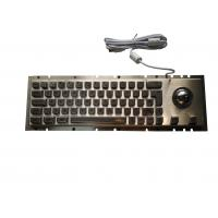 China Panel Mount Cherry Metal Mechanical Keyboard With Trackball Pointing 65 Keys on sale
