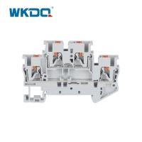 Buy cheap Push In Connection Feed Through Din Rail Mount Terminal Block IEC 60947-7-1 from wholesalers
