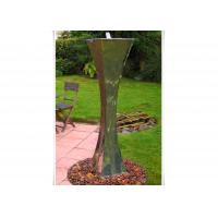 Modern Landscape Stainless Steel Water Features For The Garden , Mirror Polishing Manufactures