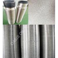 10inch gravel ceramic ball packed stainless steel multi packed filter screens Manufactures