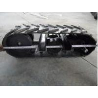 High technology for mini rubber track system280mm with front&back wheels Manufactures