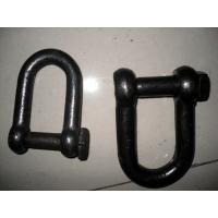 Self Colored Steel Shackles , Square Head Screw Pin Shackle European Standard Manufactures