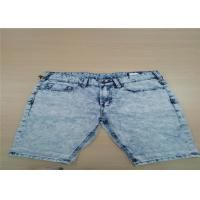 Buy cheap Soft Continous Feeling For Mens Short Pants Jeans Anti Wrinkle Skinny Cargo And from wholesalers