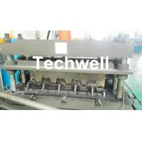 0.8-1.5mm Thickness Galvanized Steel Building Material High Speed Profile Deck Floor Cold Roll Forming Machine Manufactures