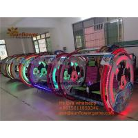 Quality Best Amusement Park Outdoor Battery Mickey Outdoor Roller Happy Car Kids Rider for sale